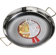 La Ideal - Paella Valenciana Acero Inoxidable 46 cm