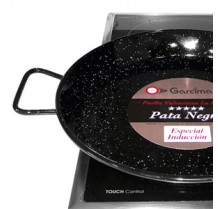 Enamelled Paella Pan for Induction