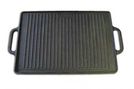 35 x 50 cm Cast Iron Griddle 1