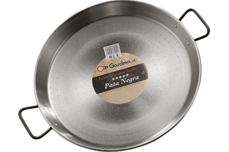 "70 cm ""Pata Negra"" Polished Steel Paella Pan"