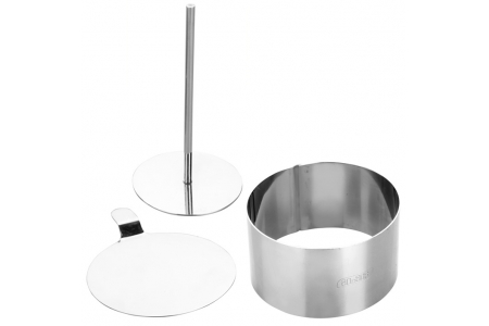 Set Pastry Ring+Undertray+Pusher