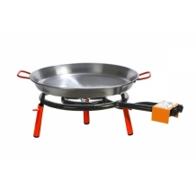 Set Valencia (mod.400 gas burner + 46 cm paella pan + table top legs)