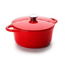 Ibili - 3.9 lts Cocotte, Red