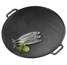 65 cm Enamelled Cast Iron Griddle