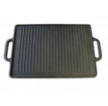 35 x 50 cm Enamelled Cast Iron Griddle