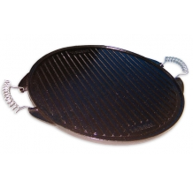 32 cm Enamelled Cast Iron Griddle