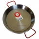 28 cm Polished Steel Paella Pan
