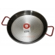 34 cm Polished Steel Paella Pan