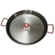 40 cm Polished Steel Paella Pan