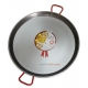 65 cm Polished Steel Paella Pan