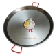 80 cm Polished Steel Paella Pan