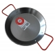 24 cm Polished Steel Paella Pan